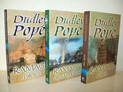 Dudley Pope - Ramage And The Rebels, Ramage's Challenge, Ramage And The Dido