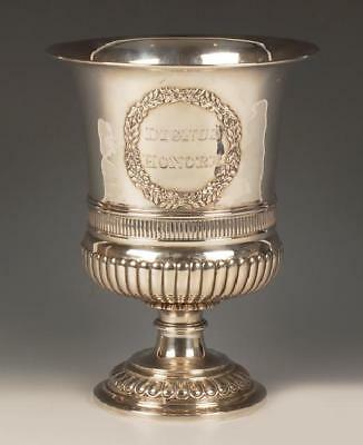 Antique Russian Nicholls & Plincke silver trophy cup