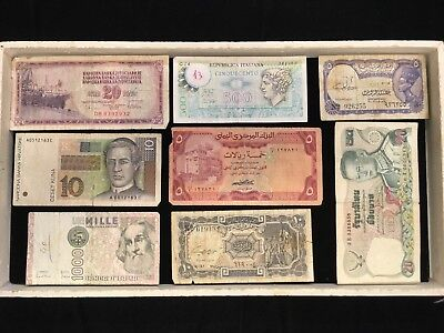 WORLD WIDE   Paper Money collection Lot  D