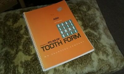 Wheeler' Atlas Of Tooth Form Fifth Edition