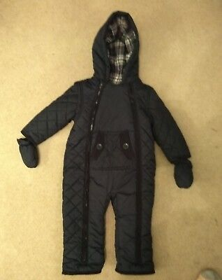 Baby Snow Suit – Age 12 - 18 Months - Mothercare Brand