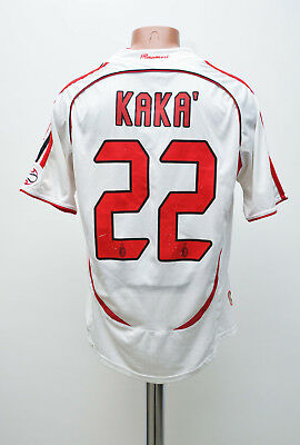 Ac Milan Italy 2006/2007 Away Football Shirt Jersey Adidas Replica Kaka #22