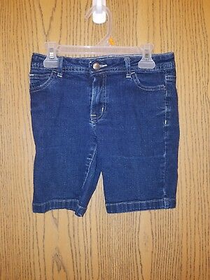 Girl's Denim Jean Shorts Size 10 GREAT Condition