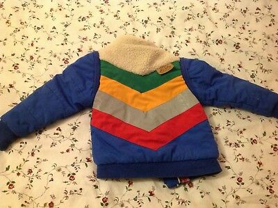 3 way padded reversible jacket, Tootsa MacGinty, excellent condition, retro