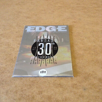 EDGE #314 JAN 2018 FINAL FANTASY 30th ANNIVERSARY SPECIAL EDITION COVER No.8