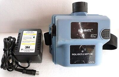 3M Air-Mate Powered Air-Purifying Respirator + Battery + HEPA Filter + Charger