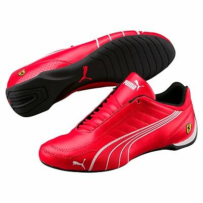 ed338eb8686 Nib Mens Puma Ferrari Sf Future Cat Kart Red Motorsport F1 Racing Sneaker  Shoe