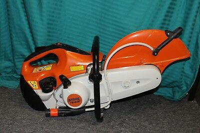 """Stihl TS420 Gas Powered 14"""" Wet / Dry Concrete Cut-Off Demo Saw - NEVER USED"""