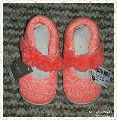 Baby Girls Next Shoes. Size 4.