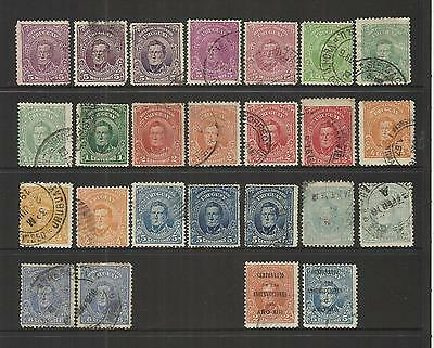Uruguay~ 1910+ Artigas Definitives (Part Set)