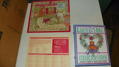 1986 Lucy & Me Collectible Gifts Book And Price Sheet & 1992 Registry Book  L/n