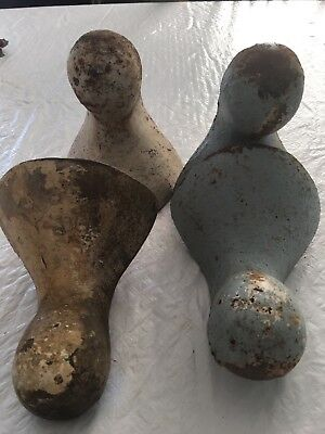 antique claw foot tub feet, matching set, screw mount set of 4