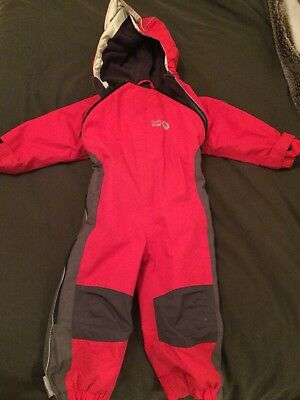 Spotty Otter 1-2 All In One Red Snow Suit Waterproof
