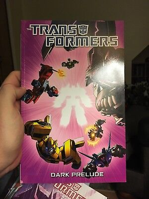 Transformers Dark Prelude IDW softcover