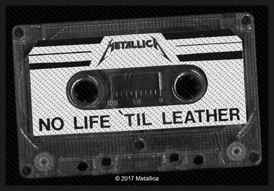 Official Licensed - Metallica - No Life Till Leather Sew On Patch Metal