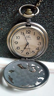 Style pocket watch/necklace table with different animals image,Gifts/Souvenirs