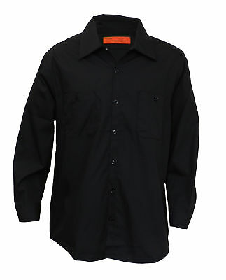 Solar 1 Clothing Industrial Long Sleeve Work Shirt MS14