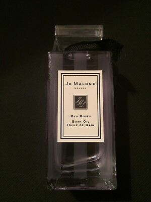 Jo Malone Red Roses Bath Oil, 30ml and Candle - Ideal Gift