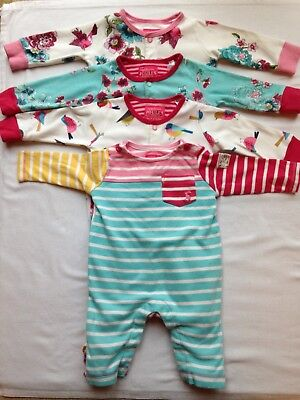 Joules 0-3 Month Baby Grow Bundle