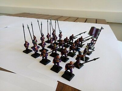 Warhammer Empire Spearmen / Dogs of war Pikeman