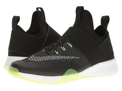 4e9a07f73818c  110 Nike Womens 9 Air Zoom Strong Running Shoes Black Volt Green 843975-001  NEW