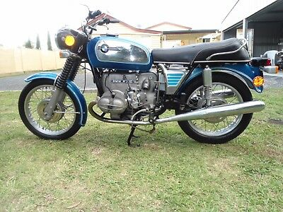 "BMW R75/5 1973 LWB ""toaster"" very good condition."