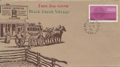 1970 #514 United Nations 25'th Anniversary FDC with Black Creek Village cachet