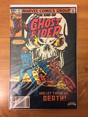 Ghost Rider #81 FN Last Issue!!