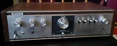 Vintage SONY Amplifier for parts or repair TA-1010