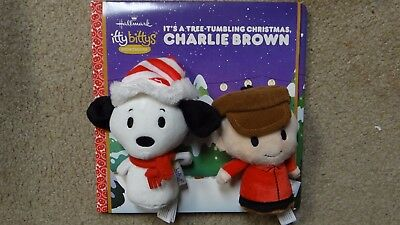 Hallmark Itty Bitty Storybook *It's A Tree Tumbling Christmas Charlie Brown*