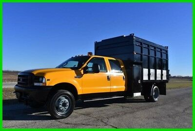 2004 Ford F-550 Crew Cab CHIPPER Dump Truck only 68k miles. - Low Reserve!