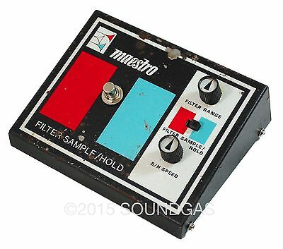 MAESTRO FSH-1 FILTER SAMPLE/HOLD Rare Vintage Effect Pedal - Zappa! inc VAT