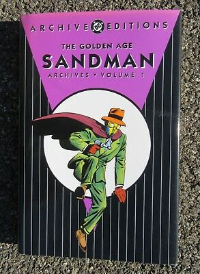 The Golden Age Sandman Archives Volume 1 2004 1st Printing DC ARCHIVE EDITIONS