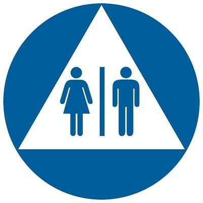 ComplianceSigns Acrylic Unisex / Family / Assisted Restroom sign, 12 inch...