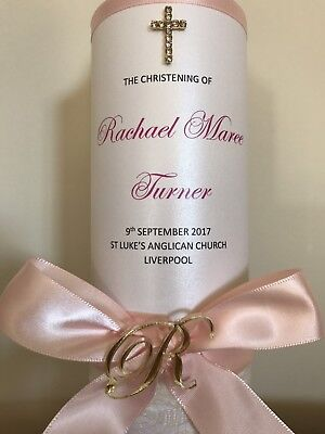 Personalised Baptism, Christening , Wedding Church Candle