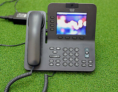 CISCO CP-8945-K9 Unified Video VoIP IP Phone - 1 YEAR WARRANTY/TAX INVOICE