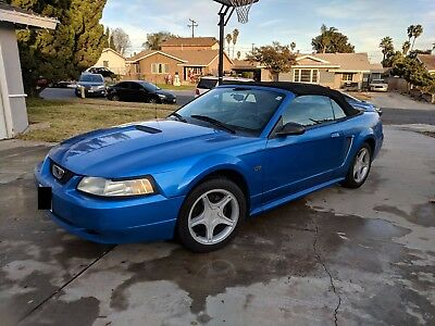 2000 Ford Mustang  2000 Ford Mustang GT Convertible NO RESERVE!