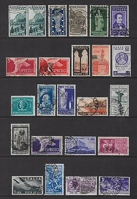 ITALY mixed collection No.19, incl joined pair