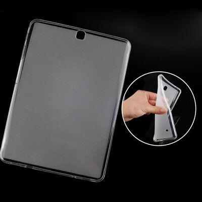 """Clear Soft TPU Back Case Protective Cover for Samsung Galaxy Tab A S2 8.0"""" 9.7"""""""