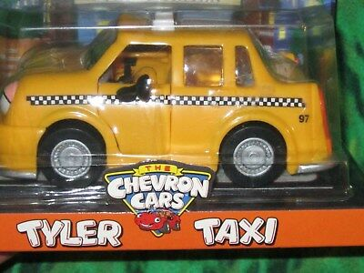1997 Collectible Chevron Gas Car Tyler Taxi from Television Commercials NEW Box