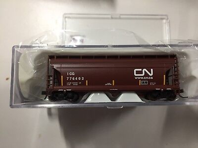 "N Scale ACF 3560 Covered Hopper ""CN"""