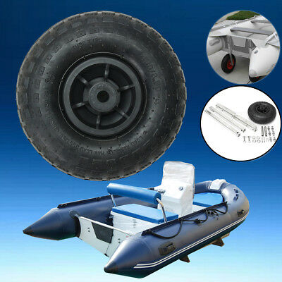 Inflatable Boat Transom Launching Wheel For Inflatable Dinghy Yacht Tender Raft
