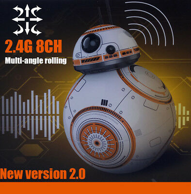New Star Wars The Force Awakens BB-8 Droid Action Figure , remote control
