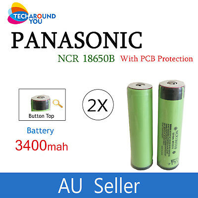 Panasonic NCR 18650 B 3400mAh Protected Lithium Li-Ion Rechargeable Battery PCB