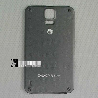 New Battery Back Door Cover For Samsung Galaxy S5 Active SM-G870A Gray
