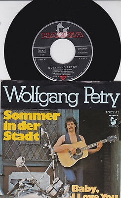 Wolfgang Petry Sommer In Der Stadt / Baby,i Love You(Singel)