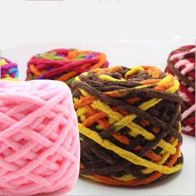 100G skeins Hand Knitting wool super soft milk Cotton Crochet Chunky Yarn lot of