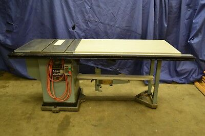 "Delta 10"" tilting arbor table saw, Cabinet Saw, w/52"" Unifence and Mobile Base"