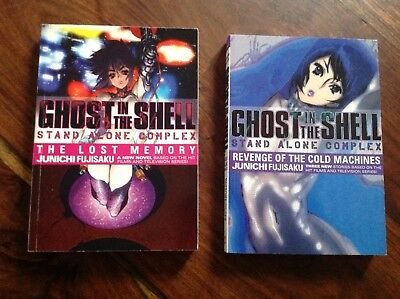 Ghost In The Shell Stand Alone Novels 1 Lost Memory 2 Revenge Cold Machines