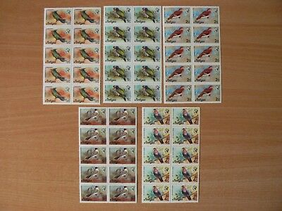 Collection Of Mint Antigua Stamps - Birds
